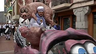 Famous Tolosa carnival underway in Spain's Basque region
