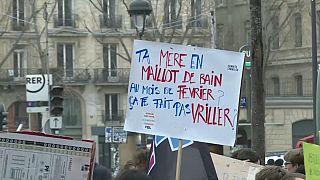 Maniestation, Paris, 1er mars 2019. Capture d'écran