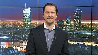 Euronews am Abend vom 1. März mit Lutz Faupel