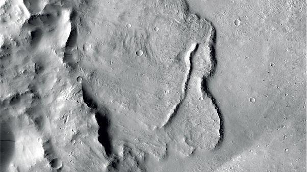 صورة لسطح كوكب المريخ