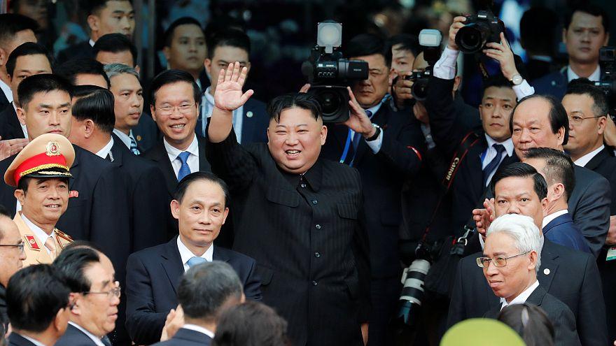 Лидер КНДР Ким Чен Ын покинул Вьетнам