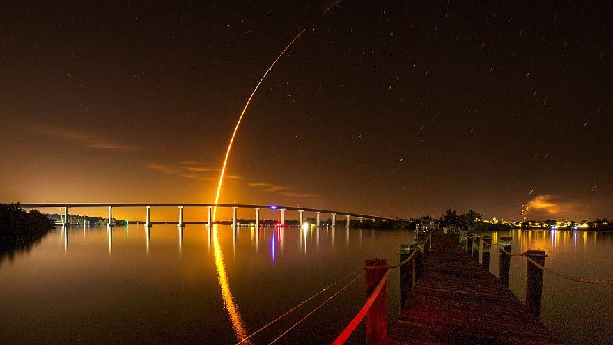 La nouvelle capsule de SpaceX est en route pour l'ISS