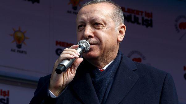 Erdoğan Rize'de vatandaşlara seslendi