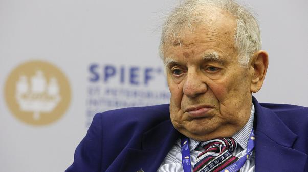 Russian physicist and Nobel prize winner Zhores Alferov