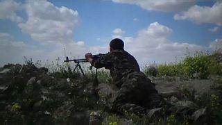 Intensos combates para erradicar Daesh da Síria