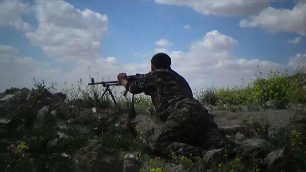 پیشروی سریع نیروهای دموکراتیک سوریه برای تسخیر آخرین پایگاه داعش در سوریه