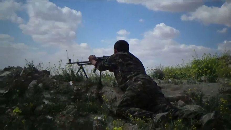 Batalla final en Al Baguz, último reducto del Dáesh en Siria