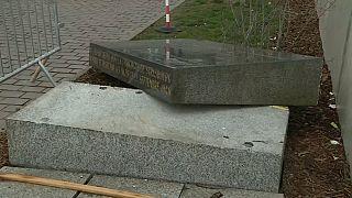 Strasbourg's vandalised Jewish Memorial sparks indignation