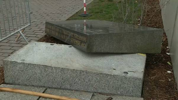 Strasbourg's vandalised Jewish Memorial sparks indignation