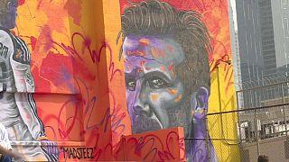 David Beckham donne de son temps pour des enfants défavorisés de Los Angeles