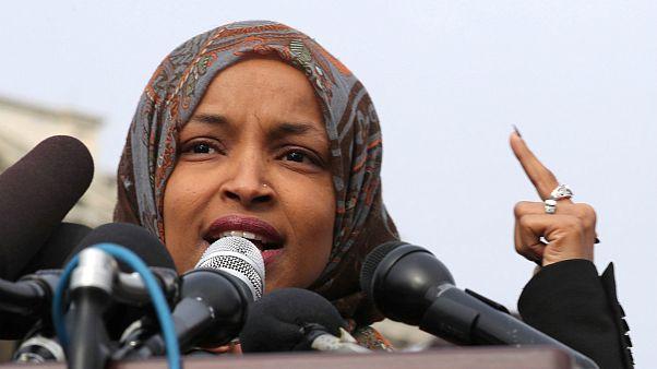 نمایش تصویر اسلامستیز از عضو کنگره آمریکا جنجالساز شد