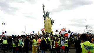 Yellow vest numbers are down after 16 weekends of protest in France