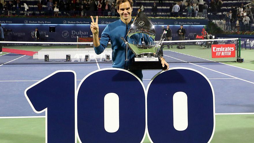 Roger Federer dalya yaptı