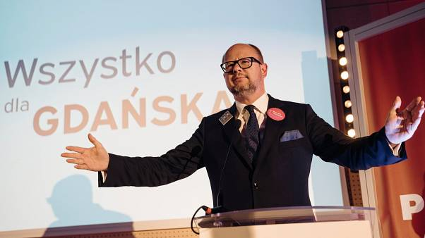 Gdansk's Mayor Pawel Adamowicz was stabbed to death in January