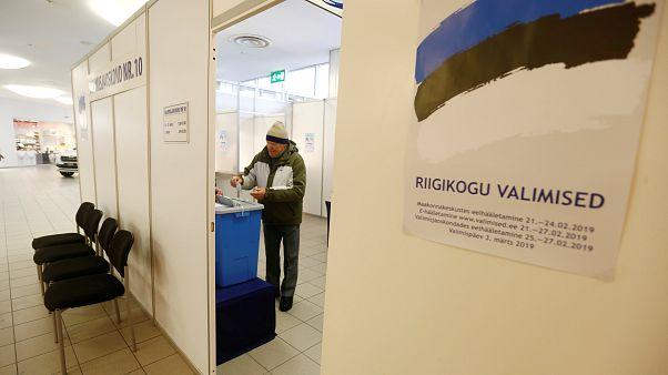 Estonians head to the polls Sunday