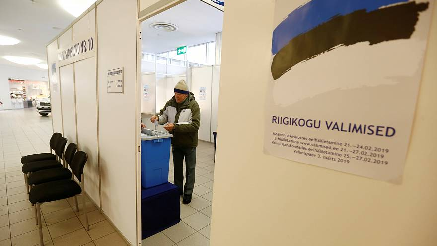 Estonians head to the polls Sunday