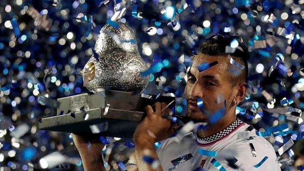 Tennis: Nick Kyrgios wins the Acapulco International in Mexico