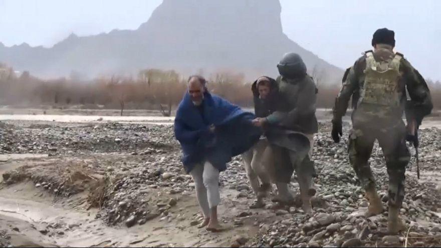 عملیات امدادرسانی به سیلزدگان افغانستان