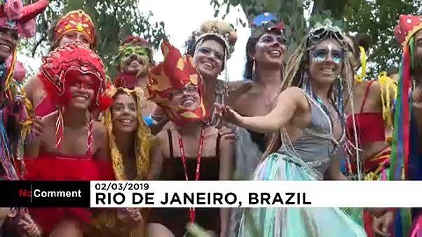Önfeledtség a riói karneválon