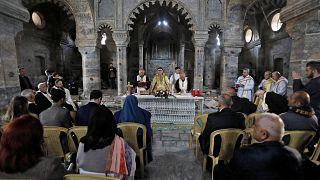قداس كنيسة مار توما بالموصل