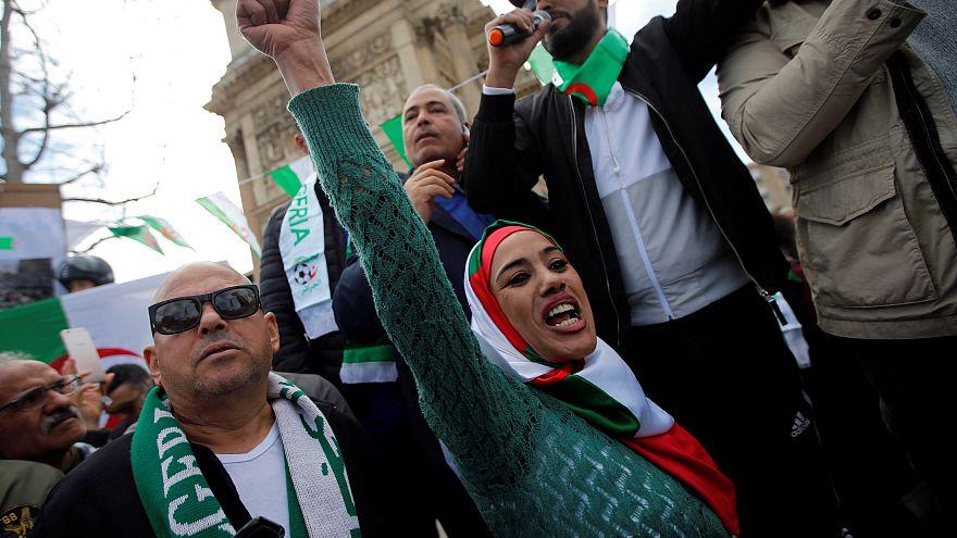 Manifestation de la communauté algérienne à Marseille