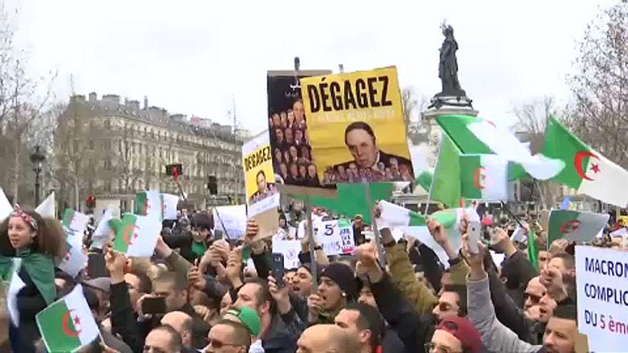 Párizs, Marseille, London – algériaiak szimpátiatüntetései