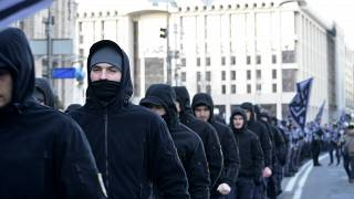 Марш в центре Киева 2 марта 2019 г.