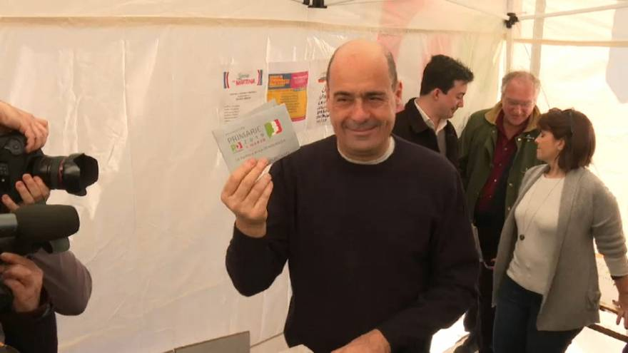 Zingaretti is new leader of Italy's Democratic Party