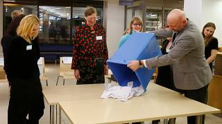 Estonia's centre-right opposition party wins general election