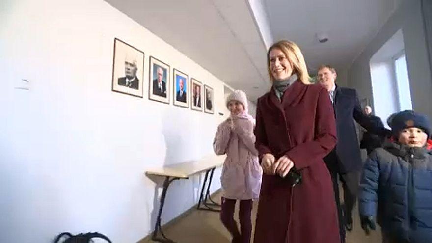 Kaja Kallas az első női miniszterelnök Észtországban