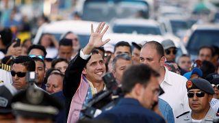 ونزوئلا؛ خوان گوایدو وارد کاراکاس شد
