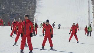 """Dem """"Obersten Führer"""" sei dank: Skifahren in Nordkorea"""