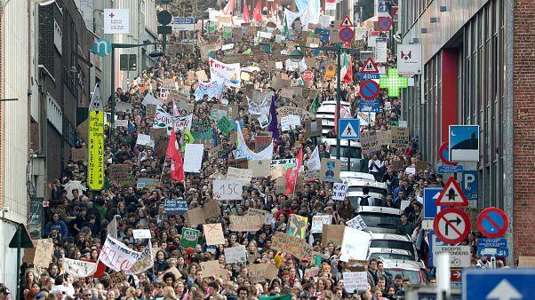 Brüksel'de son bir yıl içinde bin eylem yapıldı; Türkiye eylemleri artışta