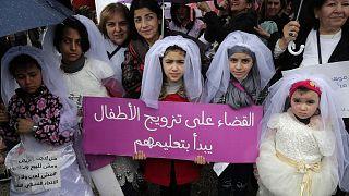 من المسيرة في بيروت