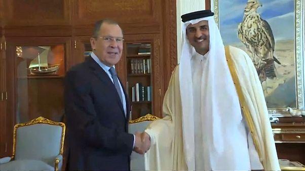 Турне Лаврова: переговоры в Дохе и Эр-Рияде