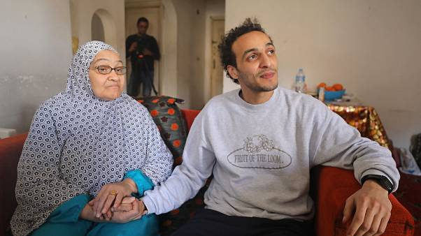 El fotoperiodista egipcio Shawkan, libre tras cinco años de cárcel
