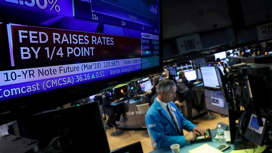 the U.S. Federal Reserve raised interest rates