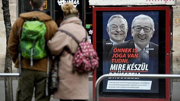واکنش تند کمیسیون اروپا به کارزار تبلیغاتی دولت مجارستان علیه یونکر