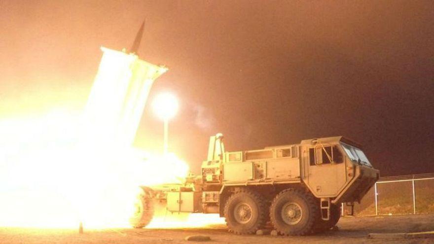 أمريكا تعلن نشرها نظام ثاد الصاروخي الدفاعي في إسرائيل
