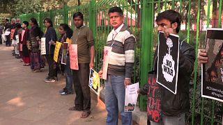 В Нью-Дели прошла акция за мир с Пакистаном