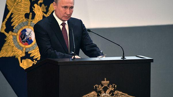 Putin Orta Menzilli Nükleer Güçler Anlaşması'nı askıya alan kararı imzaladı
