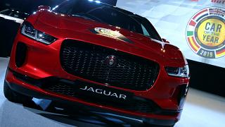 Jaguar's I-Pace car has been crowned Europe's best for 2019.