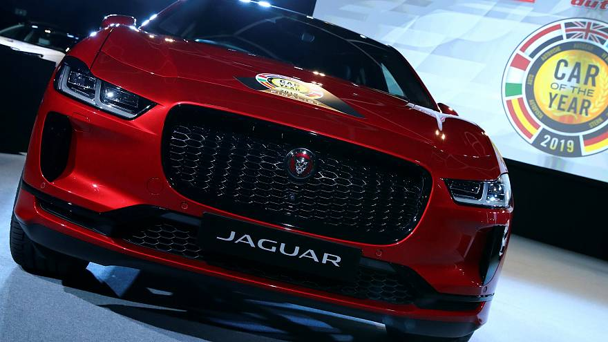 European Car Of The Year 2019 Jaguar S All Electric I Pace Model