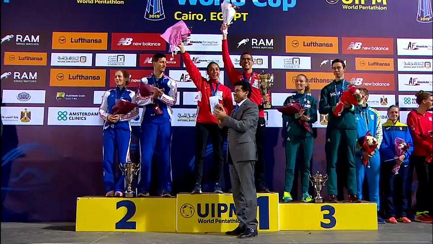 Кубок мира по пятиборью: двойная победа Египта