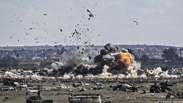 ۱۵۰ پیکارجوی داعش تسلیم نیروهای دمکراتیک سوریه شدند