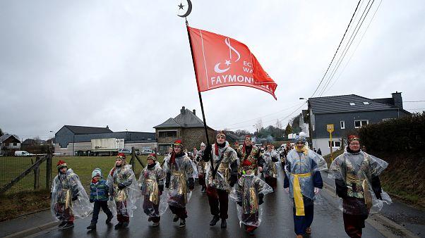Video   Belçika'da Türklerin yaşamadığı 'Türk köyü'nde festival coşkusu
