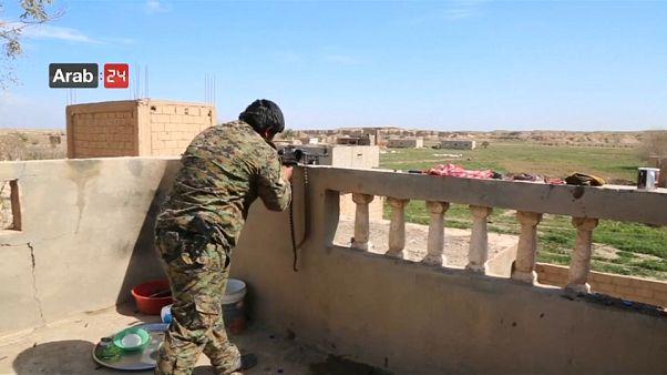 Etwa 1.000 IS-Dschihadisten leisten weiterhin Widerstand