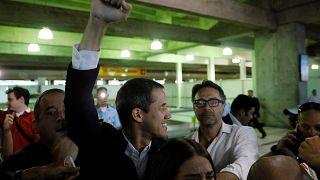 Venezuela : Juan Guaido de retour