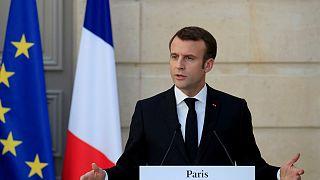 امانوئل ماکرون رئیس جمهور فرانسه