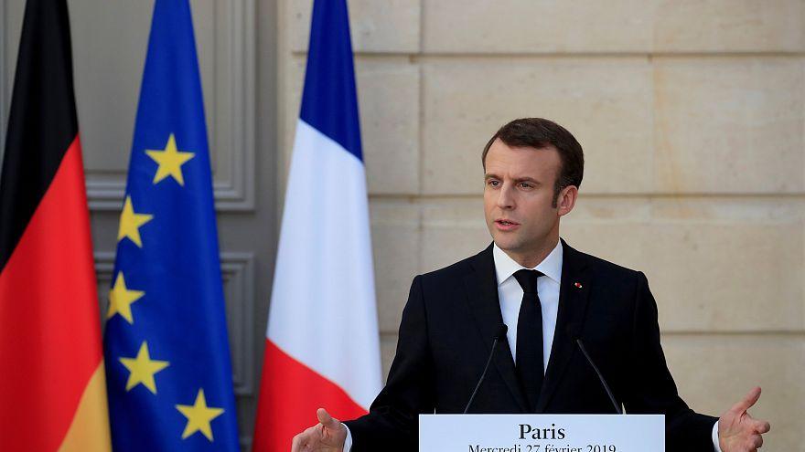 Macron: Avrupa İkinci Dünya Savaşı'ndan beri bu kadar tehlike altında olmamıştı